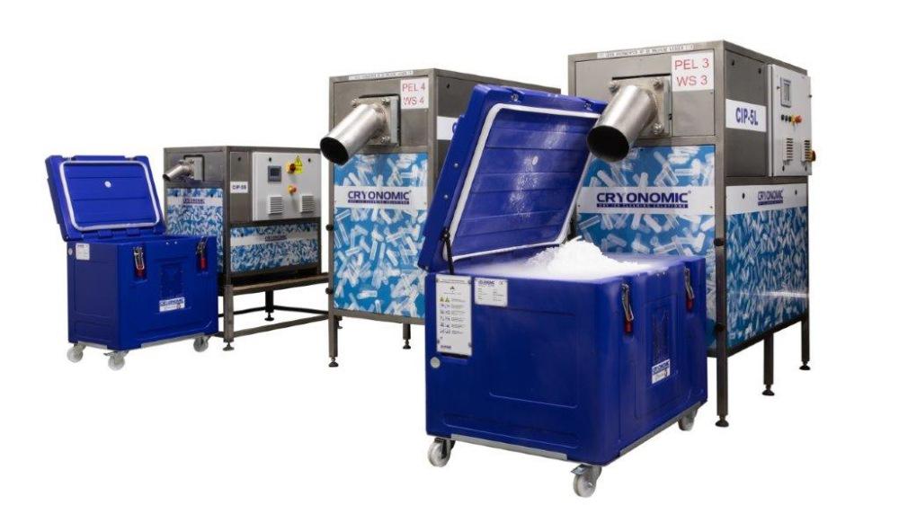 Trockeneis Pelletiermaschinen Trockeneis Verpackungsmaschinen